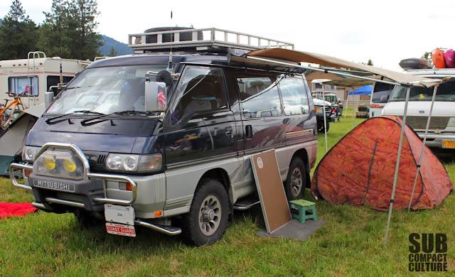 Canadian Mitsubishi Delica Diesel