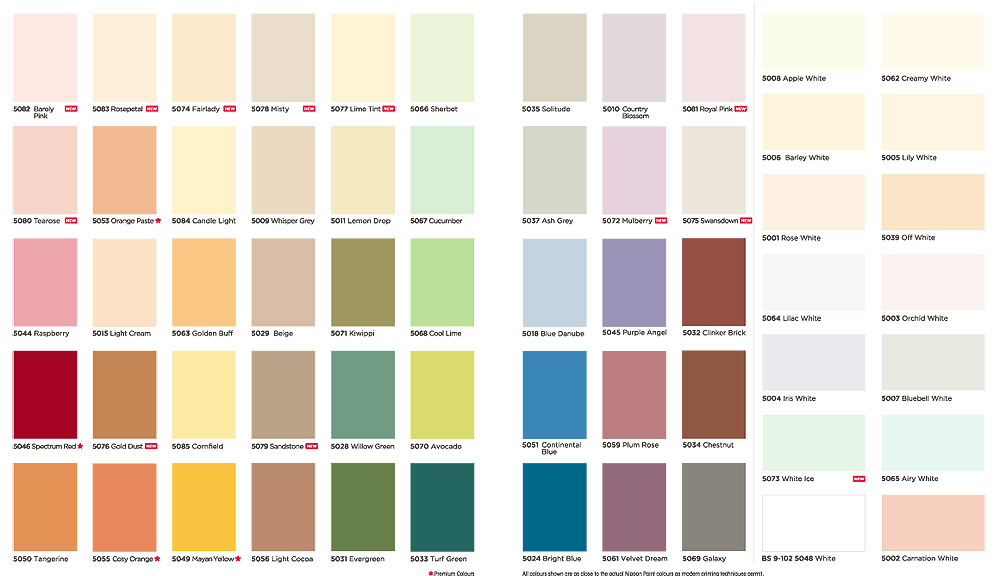Contoh Warna Cat Dulux 2016 Katalog | contoh warna cat ...