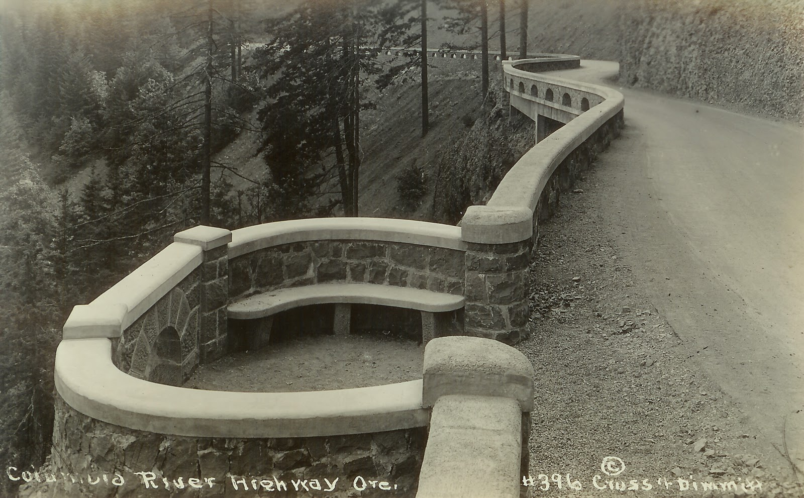 Writerquake: Old Postcard Wednesday--The Great Augusta