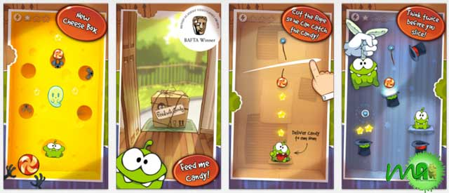 Cut the Rope HD 2.3.7 Apk (Cheese Box) screenshot