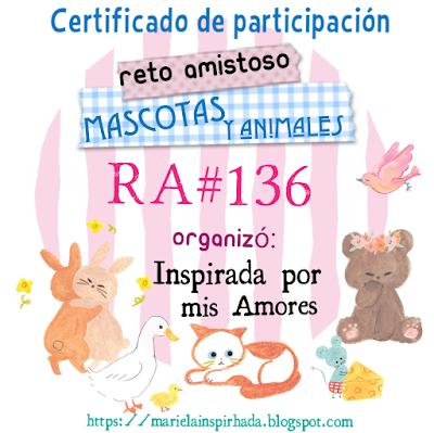 Certificado R.A. nº 136
