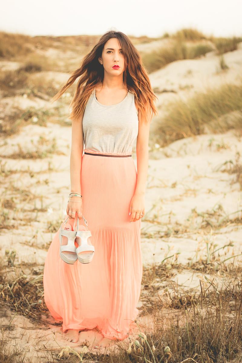 vestido fluor