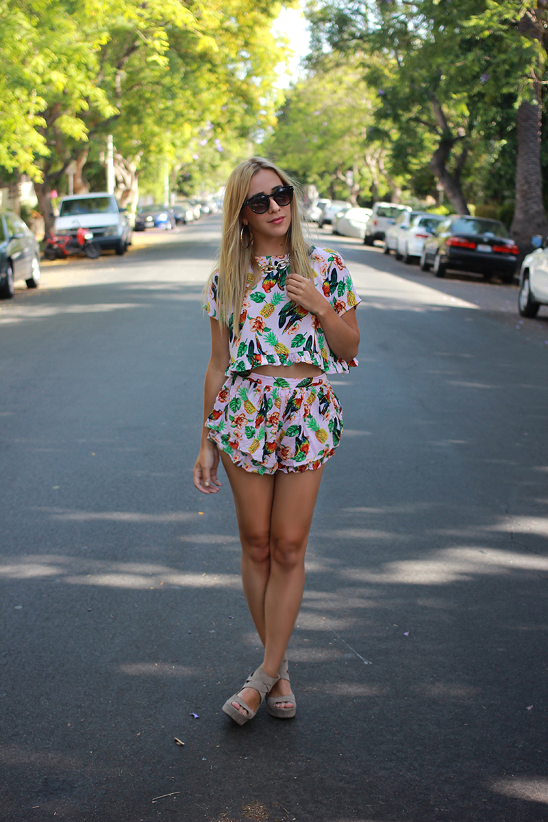 A Tropical Two-piece - Style Sarah
