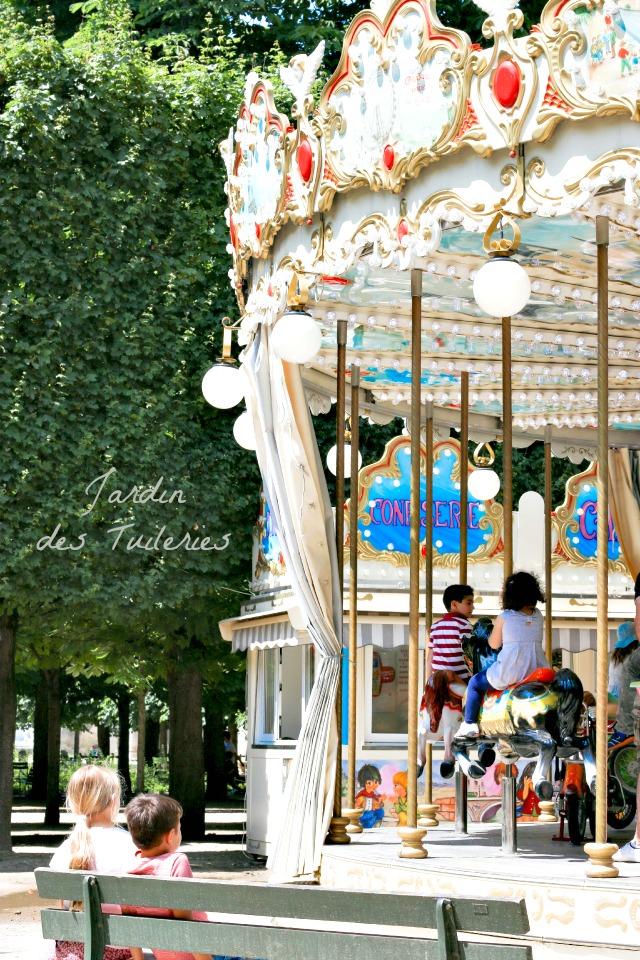 Paris mit Kindern ein Spaziergang in den Tuileries