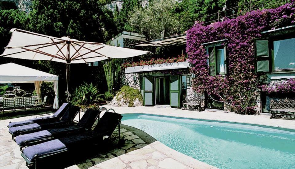 As acomodações do hotel e luxo vivenda