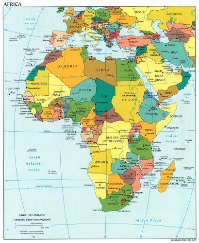 mapa de europa para colorear. Un mapa político mapa europa y