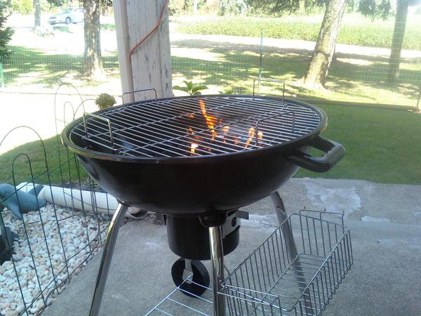 last summer amanda built this and says that grilling is one of her favorite
