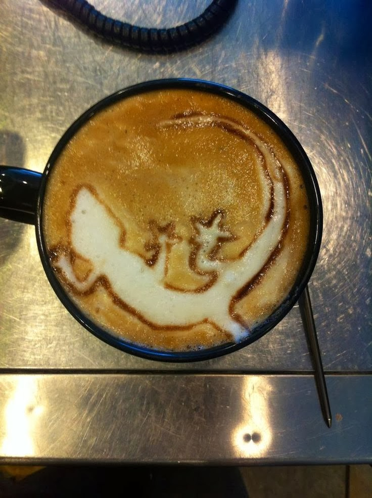 Kahve Falında Kertenkele