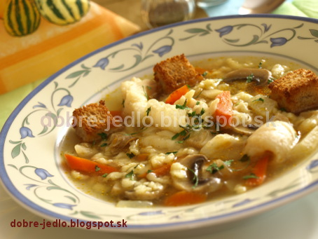 Rybacia polievka so zeleninou - recepty