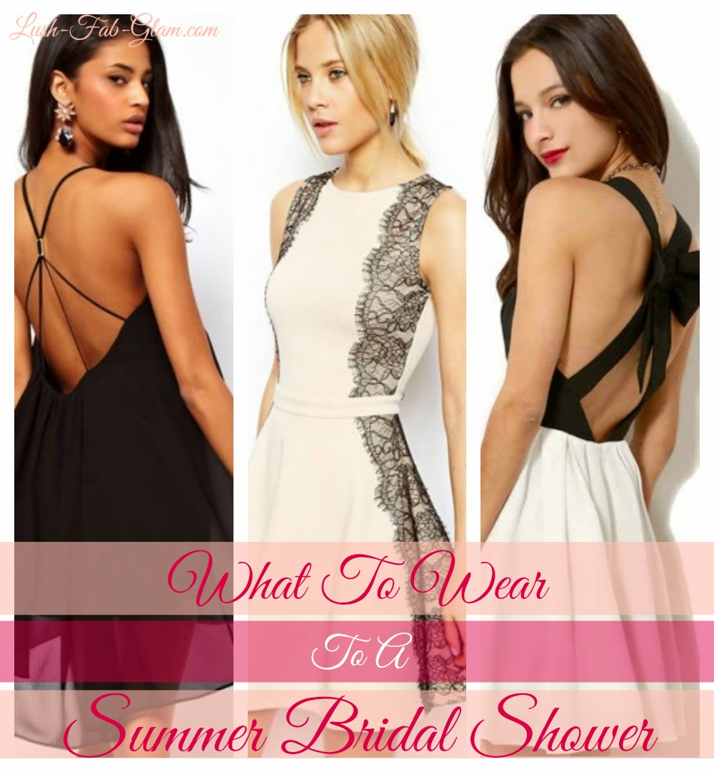 What to wear bridal shower guest