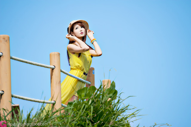1 Cha Sun Hwa Outdoor Teaser-Very cute asian girl - girlcute4u.blogspot.com