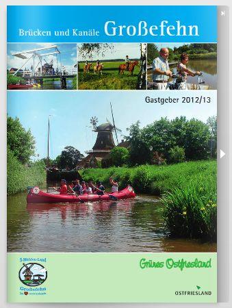 Urlaubsprospekt Großefehn 2012/13