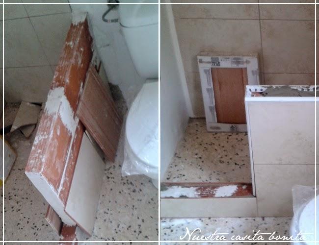 Reforma del ba o 1 tirando paredes y alicatando la - Precio reforma bano 4 m2 ...