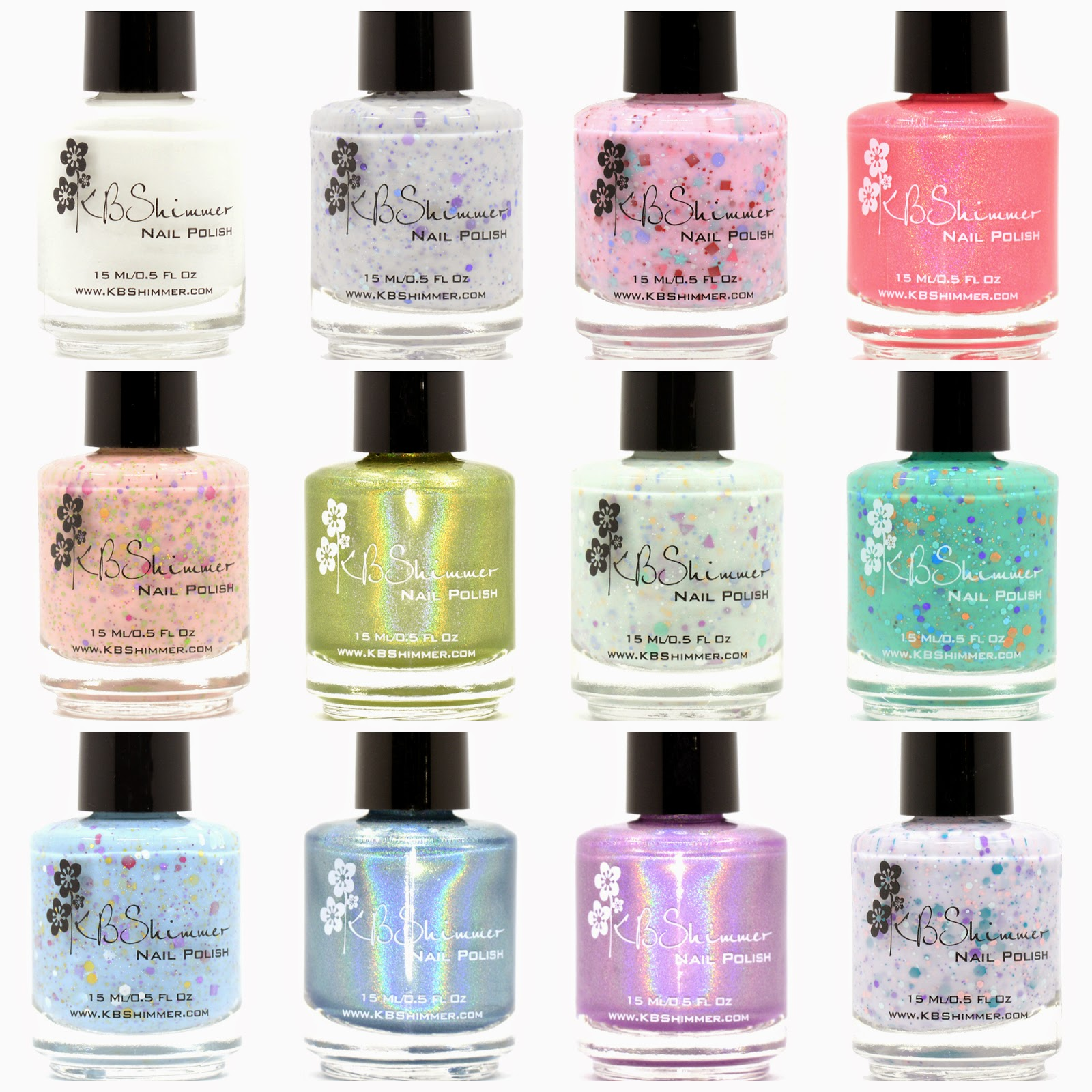 KBShimmer Spring 2015 Collection