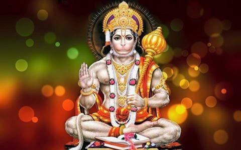 Hindu God Anjaneya Hanuman Picture