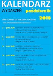 Kalendarz wydarzeń - październik