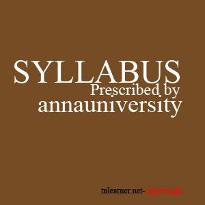 anna university syllabus books