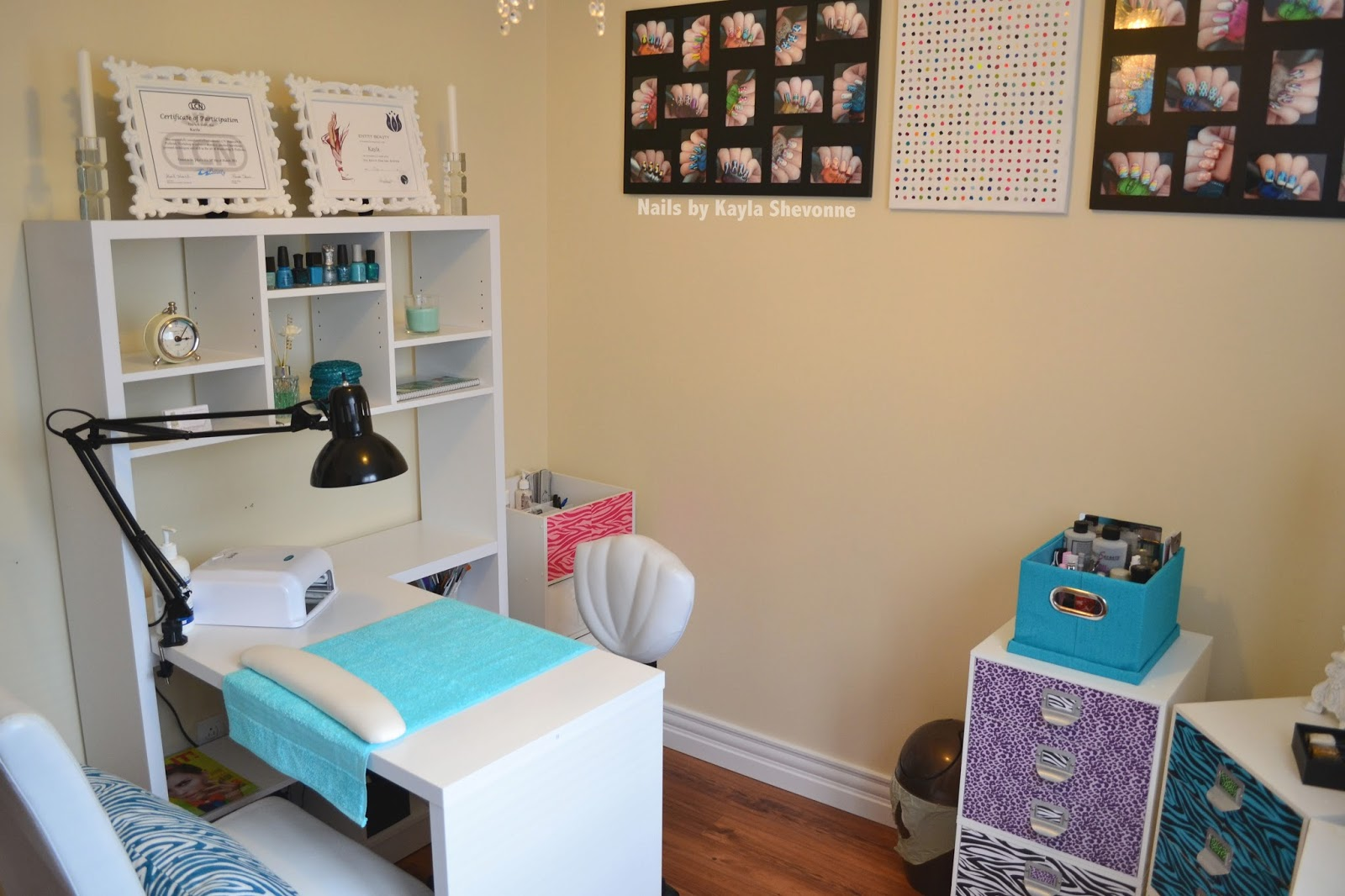 Nails by Kayla Shevonne: Picture Tour - My Updated (Again) Nail Den