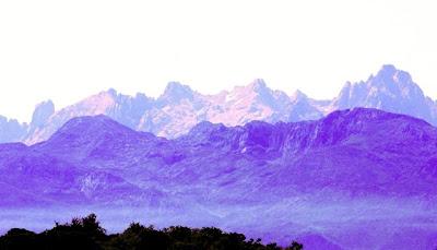 Picos de Europa desde el Mofrechu