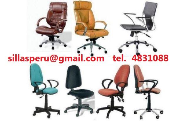 Reparacion de sillones gerenciales lima peru for Sillas de oficina lima