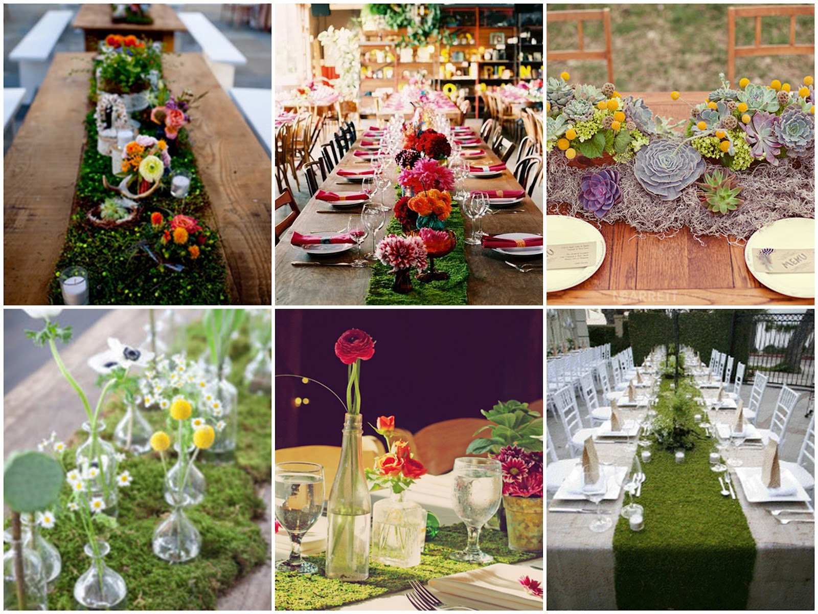 Perfect Crowning Inspiration: Long Table Runners