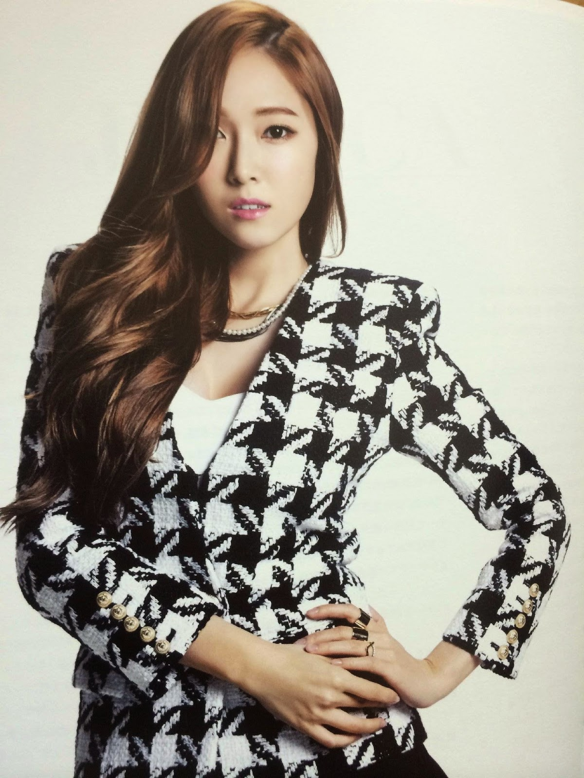 SNSD Jessica (제시카; ジェシカ) Girls Generation The Best Scan Photos 6