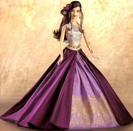 Images of some beautiful barbies dress