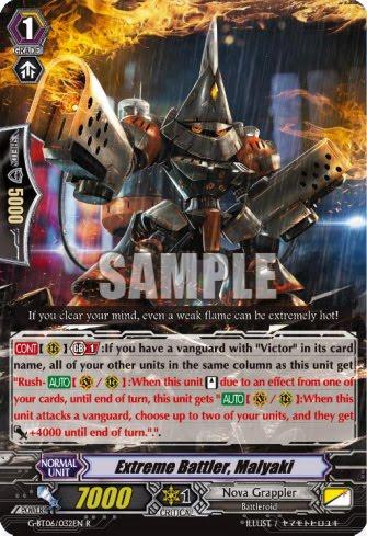 C Pack Fresh M Cardfight Vanguard  x 4 Turmoil Star-vader G-BT05//072EN Zinc