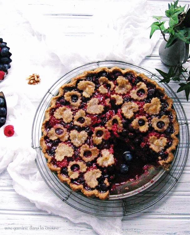 wild Ophelia's triple berry pie :: une gamine dans la cuisine