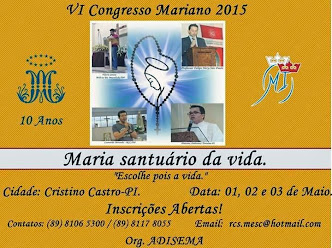 VI Congresso Mariano Em Cristino Castro - PI