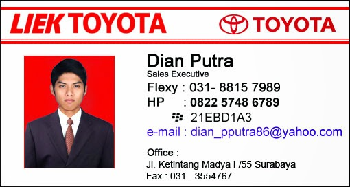 Toyota Liek Motor Surabaya