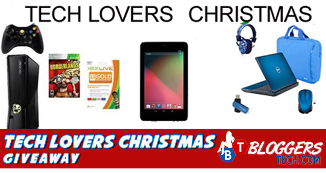 Bloggers Tech Blog Tech Lovers Christmas Giveaway