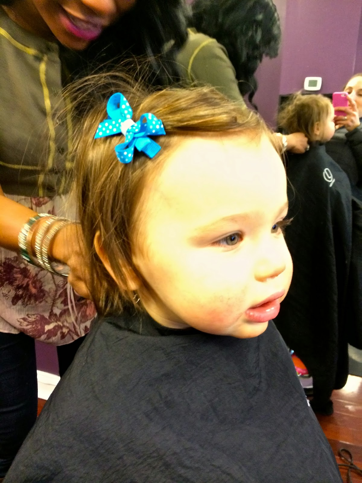 The Bedrest Chronicles Charlottes First Haircut