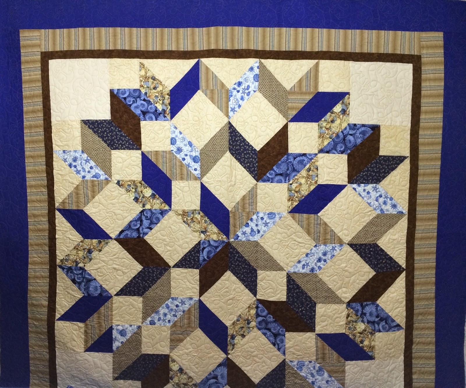 Judy Castro's Carpenters Wheel Quilt