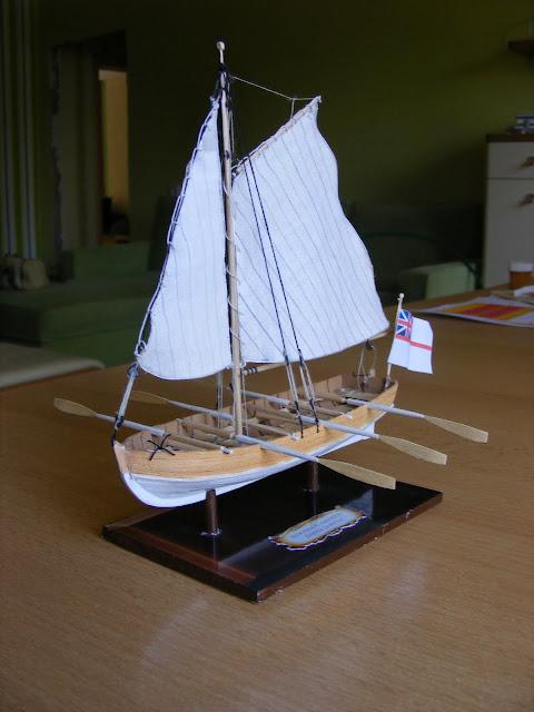 Корабль из картона видео