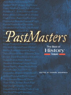 daniel snowman past masters - the best of history today