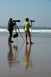 Photographers at Watergate Bay
