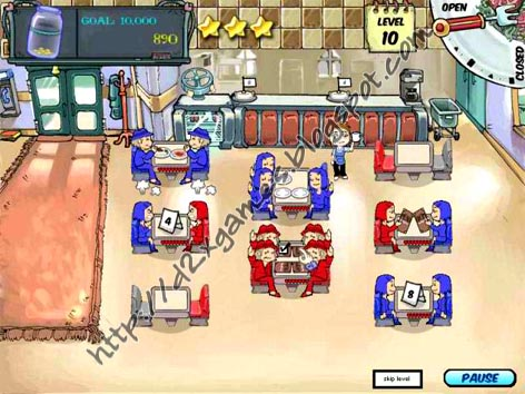 Free Download Games - Diner Dash
