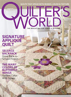 Quilter&#39;s World August 2011