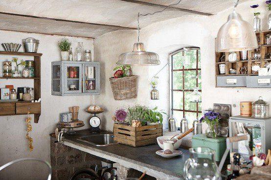 A and a cucine moderne e antiche - Cucine di campagna ...