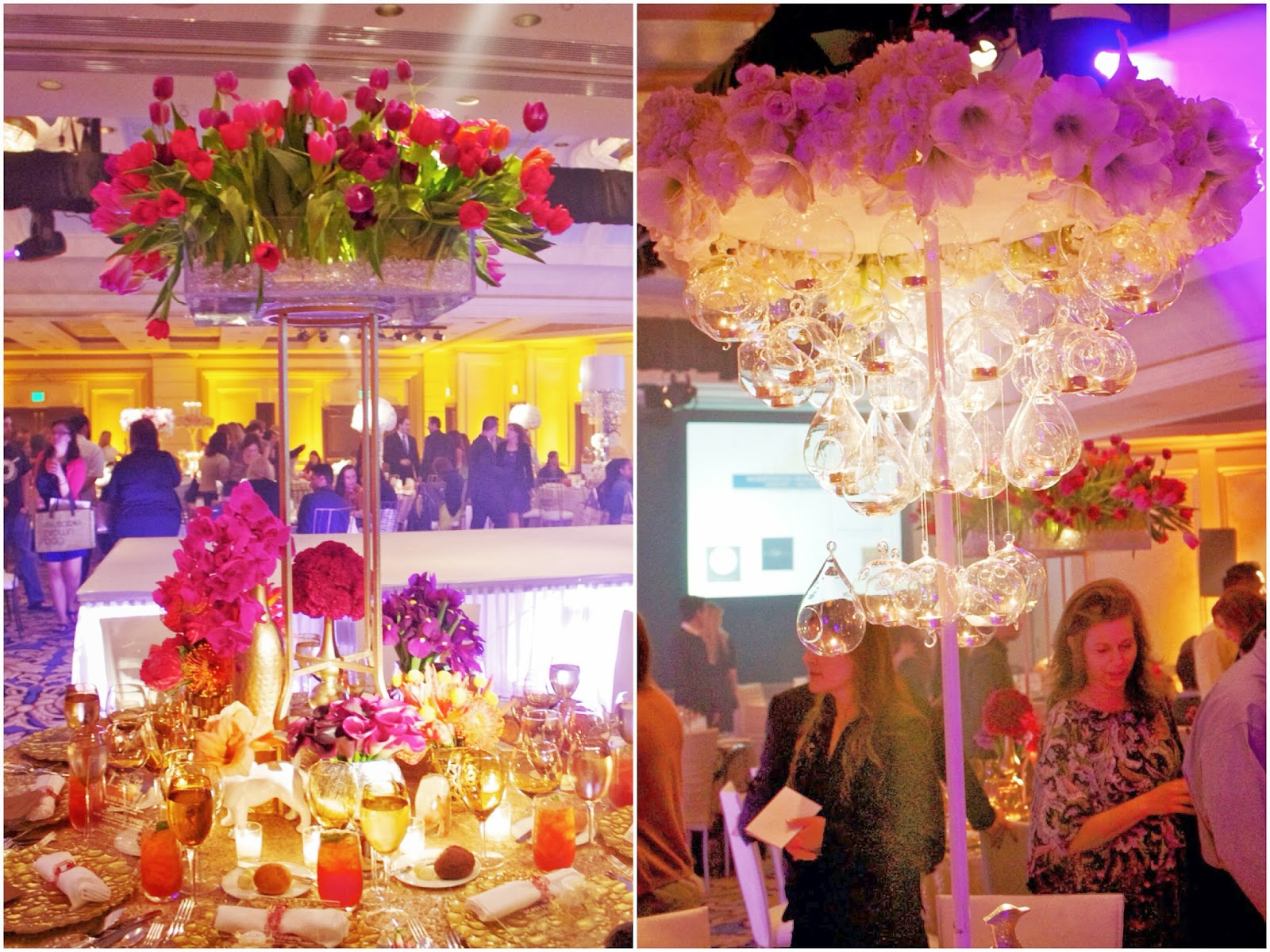 Extravagant wedding centerpieces