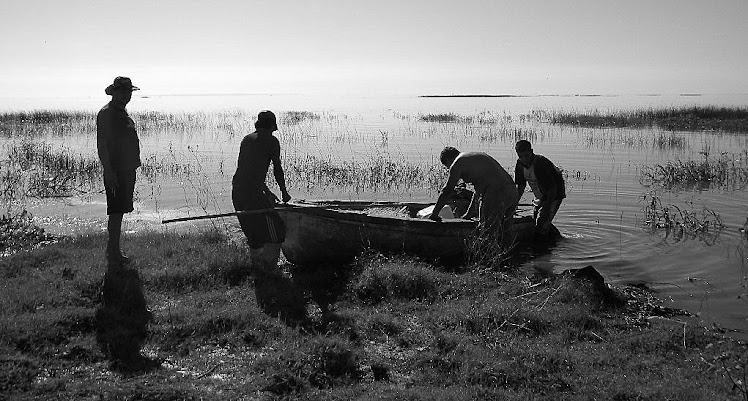 Pescadores del río Coronda