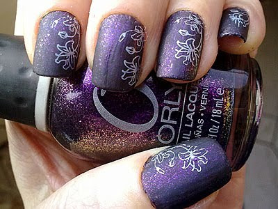 Orly Out Of This World Matte Konad m36 MUA Shade 11