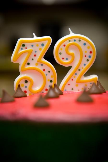 Прикольные поздравления днем рождения 32 года