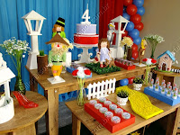 Decoração de festa infantil Mágico de Oz Porto Alegre
