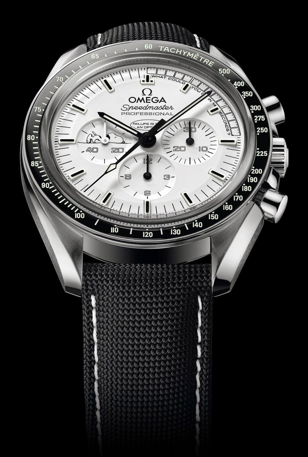 Omega Speedmaster Apollo 13 Silver Snoopy Award copy watch