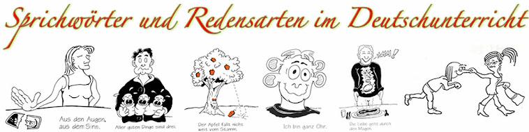 Sprichwörter und Redensarte im Deutschunterricht