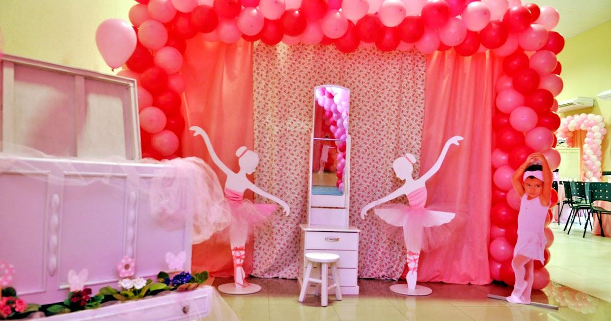 Agora n s somos festeirah decor bailarinas for Agora decoration
