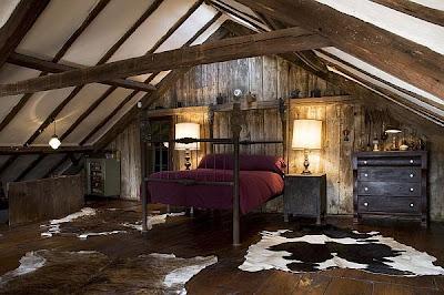 dormitorio matrimonial en ático