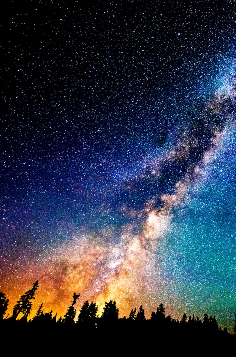 Wallpapers of the week starred night sky